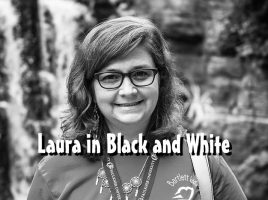 Laura in black and white-title-800
