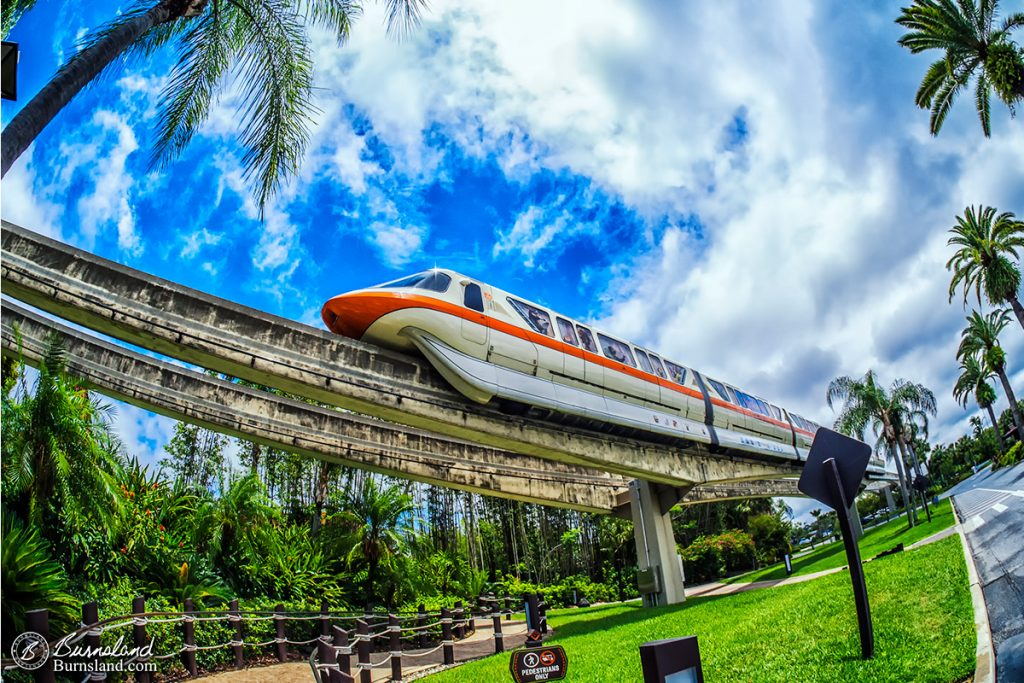 Monorail Orange at Walt Disney World-1200