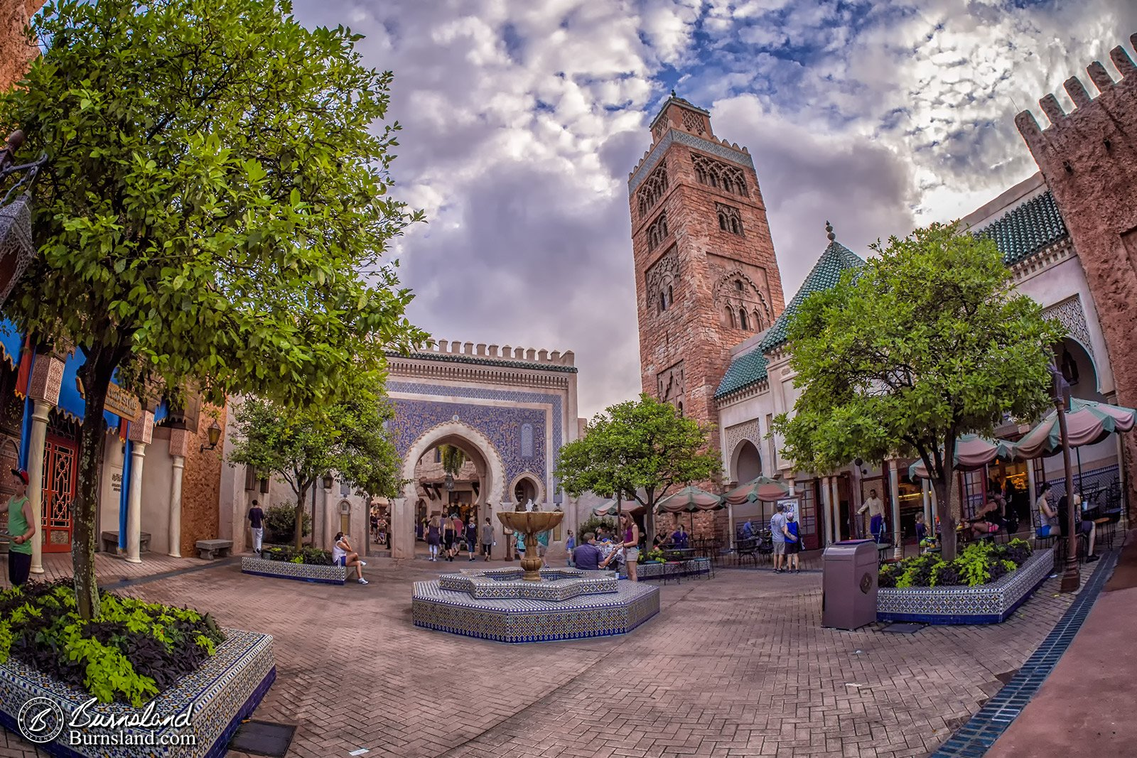 Morocco In Epcot At Walt Disney World Burnsland