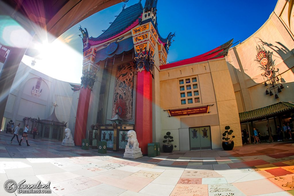 Chinese Theatre at Disney's Hollywood Studios - before and after