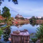 Expedition Everest Across the Water at Disney's Animal Kingdom