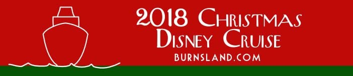 2018 Christmas Disney Cruise